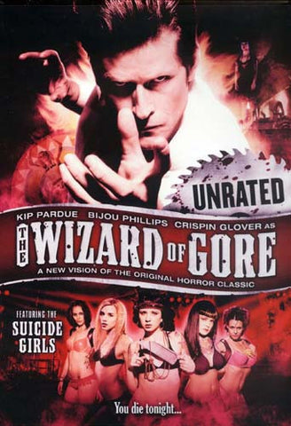 The Wizard of Gore DVD Movie