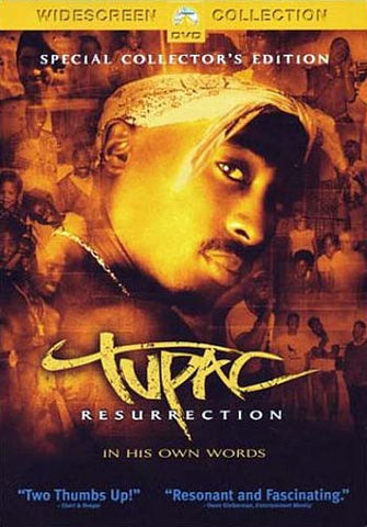 Tupac - Resurrection (Widescreen Edition) DVD Movie