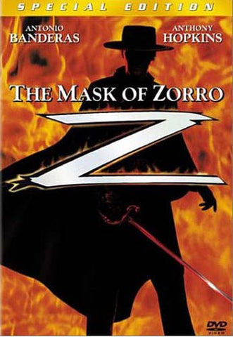 The Mask of Zorro (Special Edition) (Widescreen/Fullscreen) DVD Movie