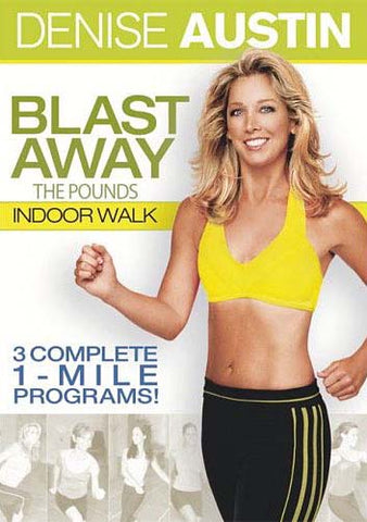 Denise Austin - Blast Away the Pounds - Indoor Walk DVD Movie