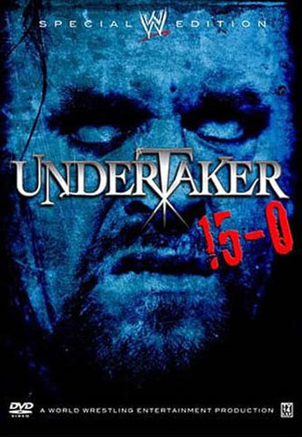 WWE - Undertaker 15-0 (Special Edition) DVD Movie