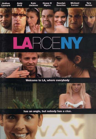 Larceny DVD Movie