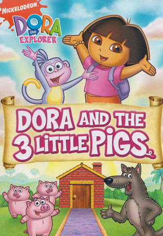 Dora The Explorer - Dora And The Three Little Pigs (Fullscreen) DVD Movie