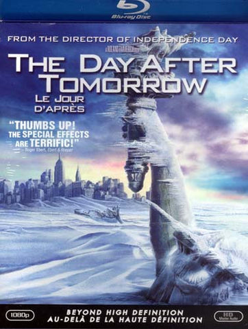 The Day After Tomorrow (Blu-ray) BLU-RAY Movie