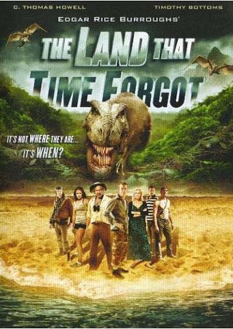 The Land That Time Forgot DVD Movie