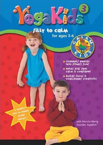 YogaKids - Vol. 3: Silly To Calm DVD Movie