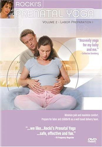 Rocki's Prenatal Yoga Vol. 2 - Labor Preparation 1 DVD Movie