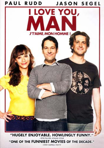 I Love You, Man DVD Movie