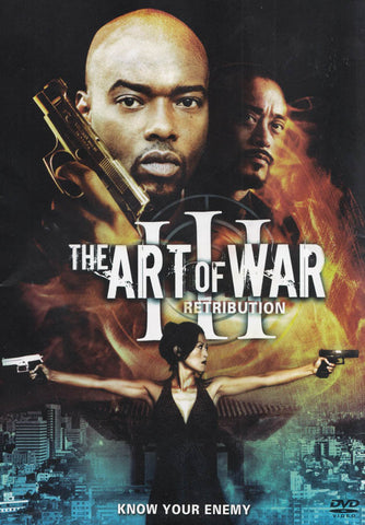 The Art of War III: Retribution DVD Movie