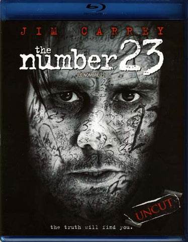 The Number 23 (Bilingual) (Blu-ray) BLU-RAY Movie