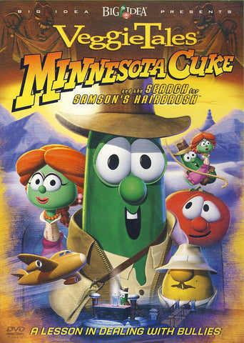 VeggieTales - Minnesota Cuke And The Search For Samson's Hairbrush DVD Movie