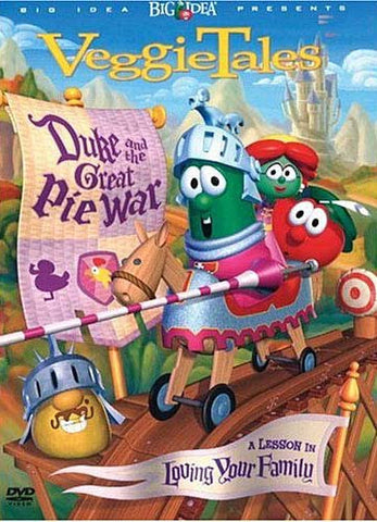 VeggieTales - Duke And The Great Pie War - A Lesson In Loving Your Family DVD Movie