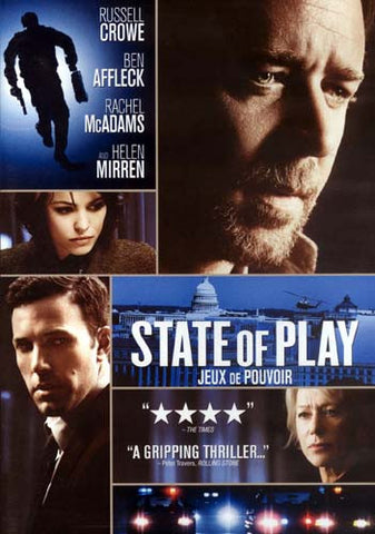 State Of Play (Jeux De Pouvoir) DVD Movie