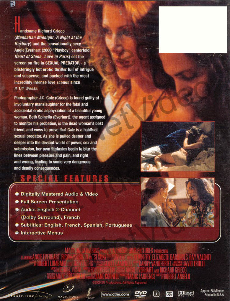 Sexual Predator On Dvd Movie-6778