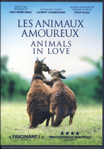 Animals In Love (Les Animaux Amoureux)(Bilingual) DVD Movie