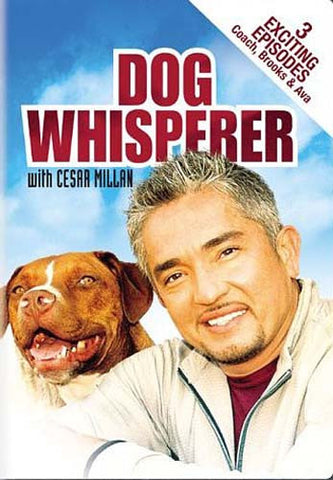 Dog Whisperer with Cesar Millan - Coach, Brooks and Ava DVD Movie