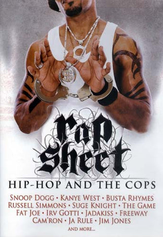 Rap Sheet - Hip Hop And The Cops DVD Movie