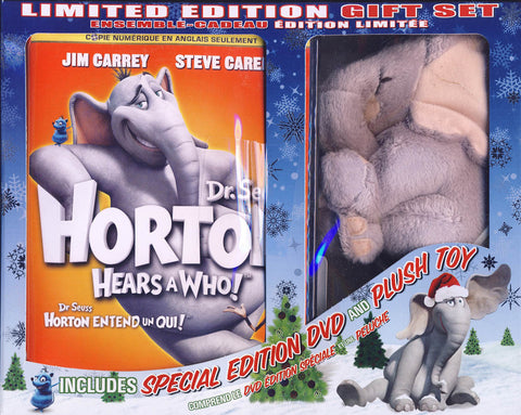 Dr. SeussHorton Hears a Who! - Limited Edition Gift Set (Special Edition+Plush Toy) (Boxset) (Bili DVD Movie