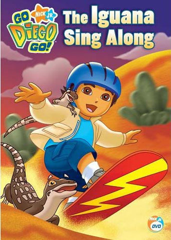 Go Diego Go! - The Iguana Sing Along DVD Movie