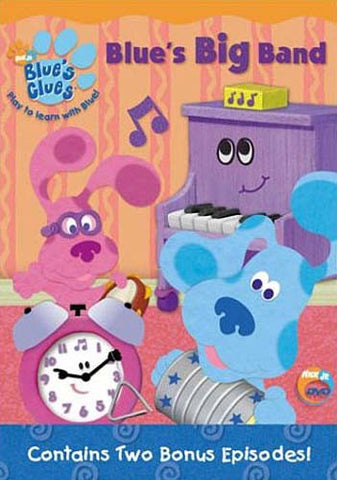 Blue's Clues - Blue's Big Band DVD Movie