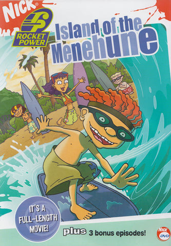 Rocket Power - Island of the Menehune DVD Movie