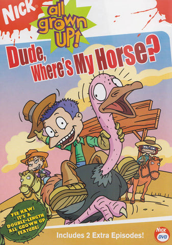 All Grown Up - Dude Where s My Horse? DVD Movie