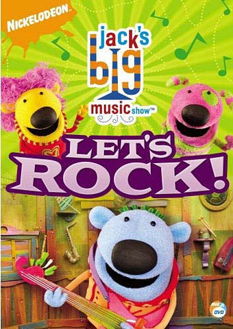 Jack's Big Music Show - Let's Rock DVD Movie