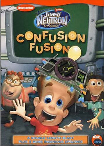 The Adventures Of Jimmy Neutron Boy Genius - Confusion Fusion DVD Movie