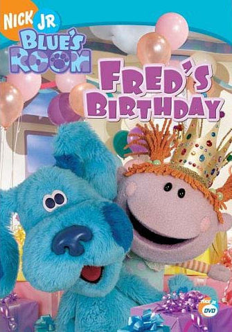 Blue's Room - Fred's Birthday DVD Movie