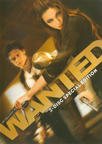 Wanted (Two-Disc Special Edition) DVD Movie