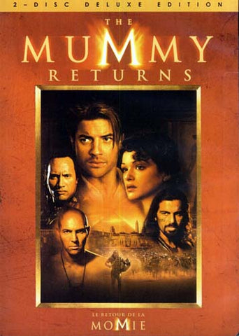 The Mummy Returns (Two-Disc Deluxe Edition) (Bilingual) DVD Movie
