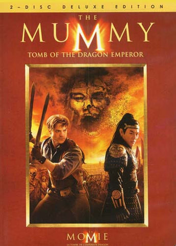 The Mummy - Tomb of the Dragon Emperor (Two Disc Deluxe Edition) (Bilingual) DVD Movie