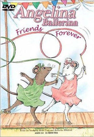 Angelina Ballerina - Friends Forever DVD Movie