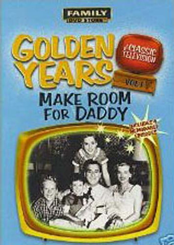Golden Years of Classic Television - Make Room for Daddy Vol.1 DVD Movie