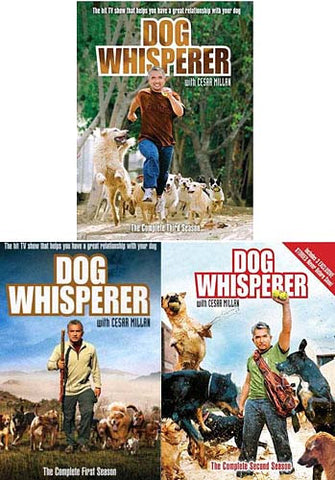 Dog Whisperer With Cesar Millan - The Complete Season 1 / 2 / 3 (3 Pack) DVD Movie