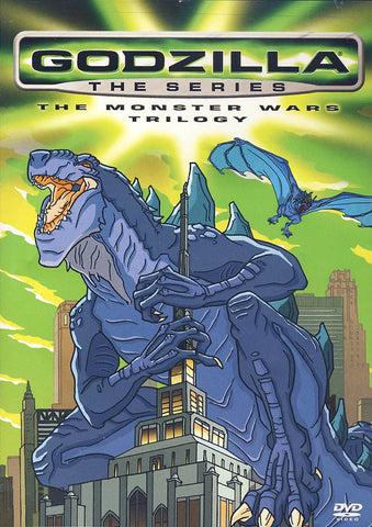 Godzilla the Series - The Monster Wars Trilogy DVD Movie