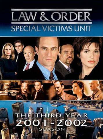 Law and Order - The Third Year (2001-2002) Season - Special Victims Unit (Boxset) DVD Movie