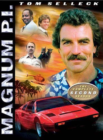 Magnum P.I. - The Complete Season 2 (Keepcase) (Boxset) DVD Movie
