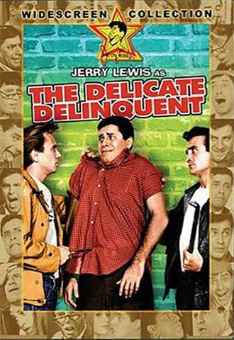 The Delicate Delinquent DVD Movie