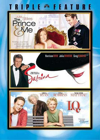 The Prince & Me / Sabrina / I.Q. (Triple Feature) DVD Movie