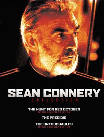 Sean Connery Collection (Hunt for Red October / The Presidio / The Untouchables) (Boxset) DVD Movie