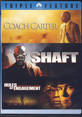 Coach Carter / Shaft / Rules of Engagement - Samuel L Jackson Collection (Boxset)