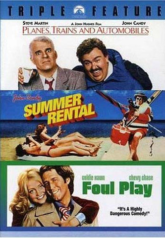 Planes, Trains and Automobiles / Summer Rental / Foul Play (Triple Feature) DVD Movie