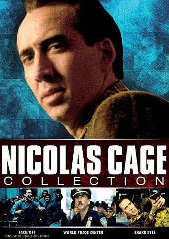Nicolas Cage Collection (Face/Off, Snake Eyes, World Trade Center) (Boxset) DVD Movie