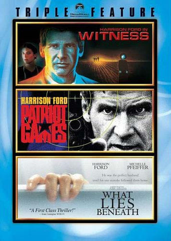 Witness/Patriot Games/What Lies Beneath (Harrison Ford Triple Feature) DVD Movie