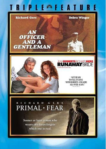 An Officer And A Gentleman/Runaway Bride/Primal Fear (Triple Feature) (Boxset) DVD Movie