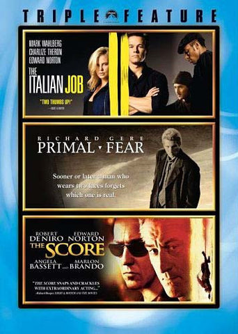 The Italian Job / Primal Fear / The Score (Triple Feature) (Boxset) DVD Movie