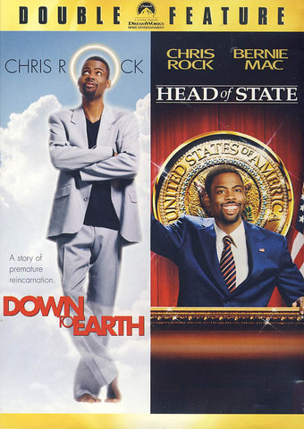 Down to Earth / Head of State (Double Feature) DVD Movie