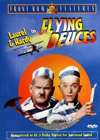 Flying Deuces (blue cover) DVD Movie