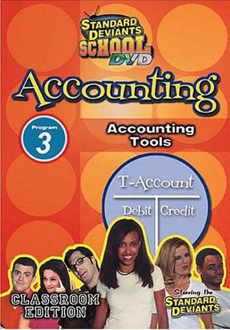 Standard Deviants School - Accounting, Program 3 - Accounting Tools DVD Movie